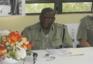 Antigua & Barbuda Police Commissioner Vere Browne.