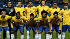 Brazil have fallen from their lofty world rankings.