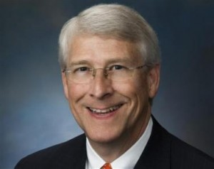 Republican Senator Roger Wicker of Mississippi is seen in this undated handout image