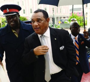 Bahamas Prime Minister Perry Christie.