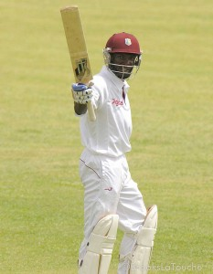 Jonathan Carter scored his maiden first-class ton today.