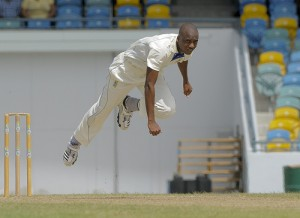 Barbados' Miguel Cummins won the award for the most promising fast bowler.