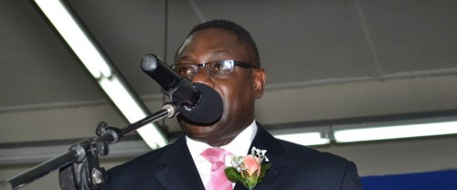 Minister of Social Care, Constituency, Empowerment and Community Development, Steve Blackett