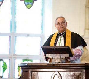 Anglican Archdeacon Keith Cartwright