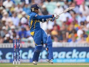 Mahela Jayawardene during his match-winning innings.