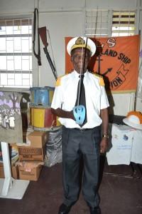 Lord High Admiral Vernon Watson.