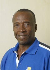 Coach Emmerson Trotman has high hopes for the Barbados Under- 15 team.