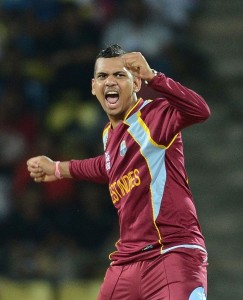 Man-of-the-Match Sunil Narine had the excellent figures of 4 for 26.