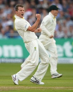 Peter Siddle's five-wicket burst undermined England's batting.