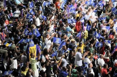 Barbados Tridents v Antigua Hawksbills - CPL 2013
