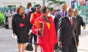 BLP team headed to Parliament today.
