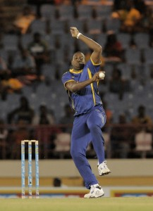 Barbados Tridents' captain Kieron Pollard shone with both bat and ball last night. (LCPL)