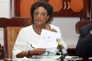 Opposition Leader Mia Mottley today called for an urgent recall of Parliament to deal with major issues facing the country.