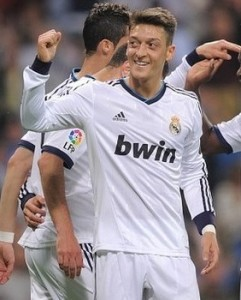 Arsenal's new signing Mesut Ozil is one of the biggest names bought.