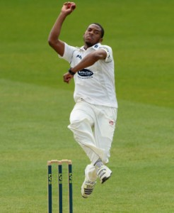 Barbados-born all- rounder Chris Jordan to play for England.