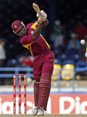 Kirk Edwards on the drive during his century.