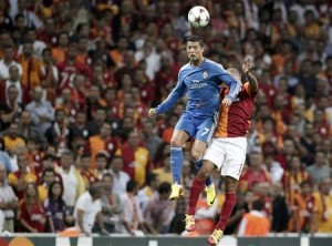 Ronaldo scored thrice to help dismantle Galatasaray.