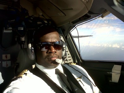 Head of the Leeward Islands Airline Pilots' Association Captain Carl Burke, pictured here, was also suspended from duty after stepping in to fight the case of Barbadian pilot Neil Cave.
