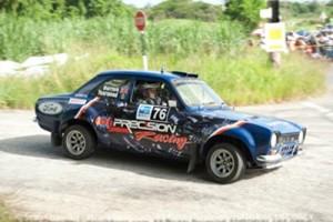 Driver Paul Horton