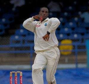 Shane Shillingford is in Barbados working on his dodgy action with Vasbert Drakes.