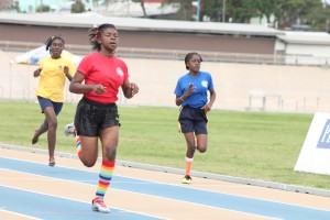 The girls under-15 200m belonged to Haynes House's Kashera Francis while Alleyne House's Akira Nicholls came second and Reann Clarke of Read House was third.