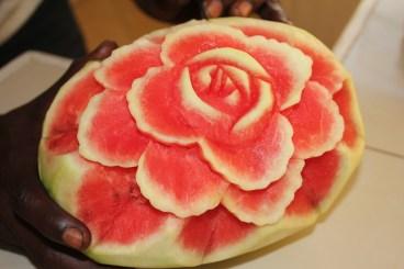 Beauty in a watermelon.