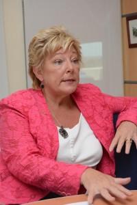 Jean Lowry, the IICA's representative to Barbados.