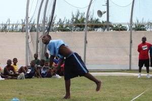 Deacons Primary's Malachi Harris virtually threw away the cricket ball to score one of the easiest victories of the day.