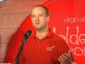 Nick Parker of Virgin Atlantic