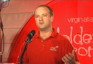 Nick Parker of Virgin Atlantic