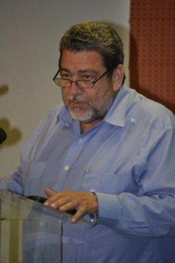 Prime minister Dr Ralph Gonsalves