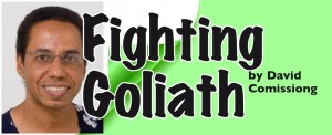 fighting goliath