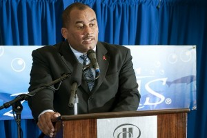 Tourism Minister Richard Sealy