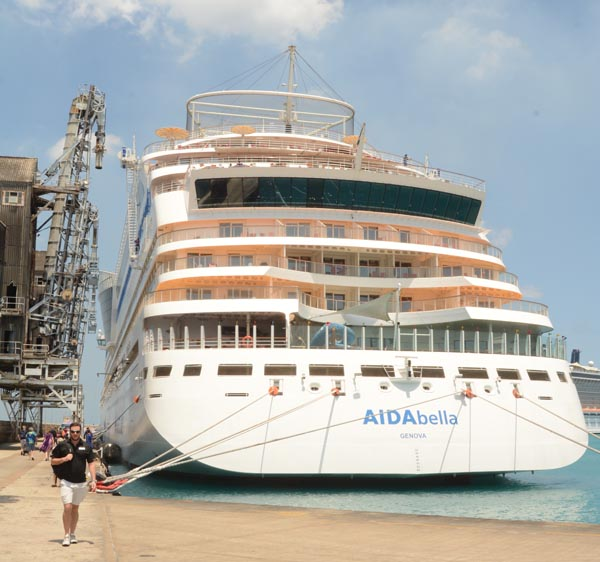 AIDA bella ship