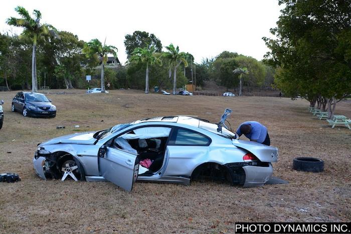 Kemar Roach accident 2