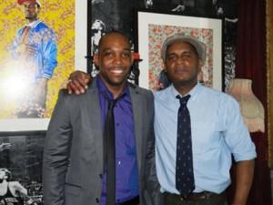 CBONY President Randy Brathwaite (left) and Thompson.