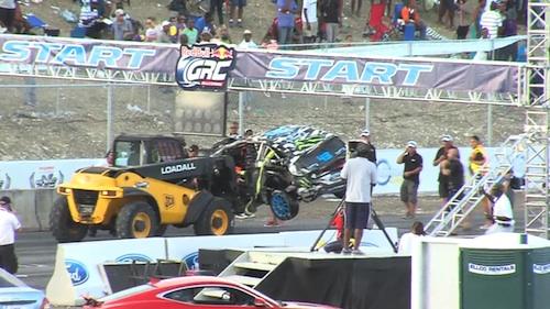 Ken Block crash