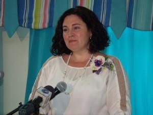 UN Women representative-in Barbados, Christine Arab.