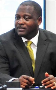 Minister of Industry, International Business, Commerce and Small Business Development Donville Inniss.