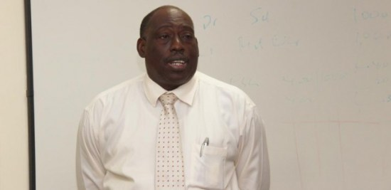 QEH CEO Dr Dexter James
