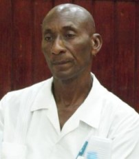Acting Prinicpal Health Officer Cameron Carrington.