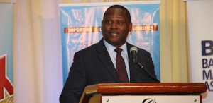 Minister of International Trade Donville Inniss