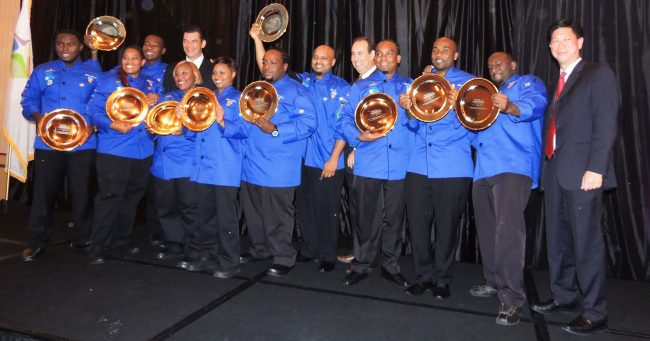 The 2014 Barbados Culinary Team returned home with an impressive 11 awards, including Team Silver from the Caribbean Hotel and Tourism Association's (CHTA) Taste Of The Caribbean competition.