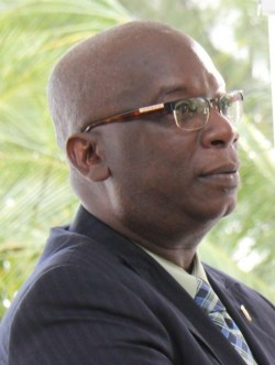 Minister of Education Ronald Jones.
