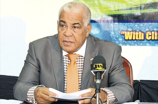 Minister of Water, Land, Environment and Climate Change Robert Pickersgill