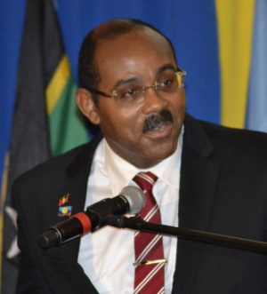 New CARICOM Chairman and Prime Minister of Antigua and Barbuda Gaston Browne
