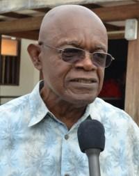 President of BARP, Ed Bushell