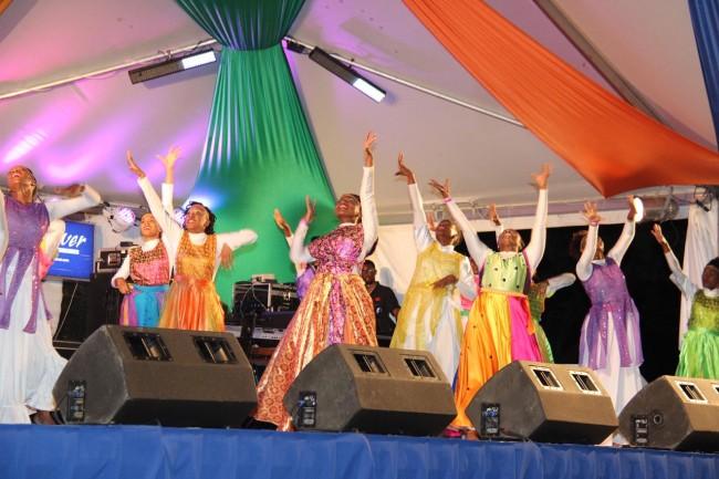 The impressive Psalm 150 Dancers.