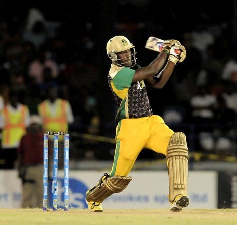 Andre Russell snatched victory from the Red Steel