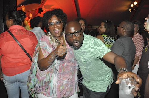 Leader of the Opposition Mia Mottley and Opposition MP Dwight Sutherland